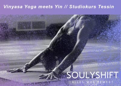 Vinyasa Yoga meets Yin mit Nadin